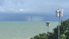 Waterspout Spotted Near Lake Erie's Ohio Shoreline
