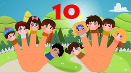 Ten Little Fingers Nursery Rhyme