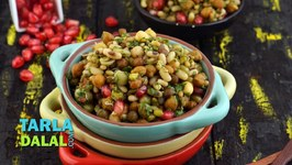 Mixed Sprouts Chaat, Evening Indian Snack
