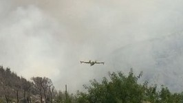 Firefighting Aircraft Mobilized as Wildfires Rage in Southern Croatia