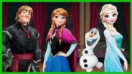 Disney Frozen Rush - 3 - Elsa Anna Olaf And Kristoff Runner - Disney Games