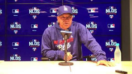 NLDS: Dave Roberts On Dodgers' Momentum And Pressure