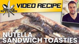 Nutella Sandwich Toasties