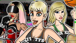 Katy Perry - Swish Swish Ft Nicki Minaj - Cartoon Parody