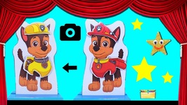 PAW PATROL DRESS UP GAME - Wrong Heads with Chase Skye Rubble Zuma Costumes  for Pups