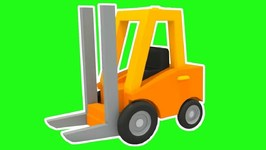 Excavator Max Cartoon and A Loader- Cars Cartoons and Cars Games- Baby Cartoon with Excavator for kids.