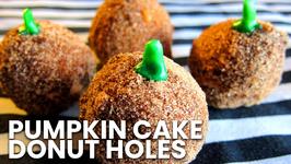 How To Make Pumpkin Cake Donut Holes