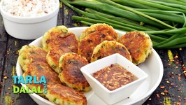 Veg Rice Cutlets - Shallow Fried Starter - Hindi