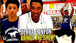 Son Of Nba Greats Scotty Pippen Jr And Kenyon Martin Jr Show Out Vs Lb Poly Full Highlights