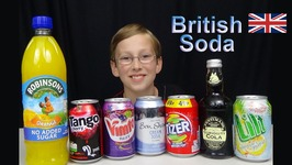 British Soda Taste Test