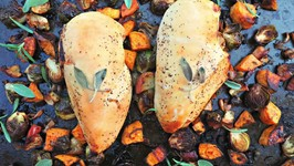 Dinner Recipe-Autumn Harvest Baked Chicken