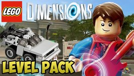 LEGO Dimensions Back to the Future - Level Pack - Walkthrough  Unboxing (71201)