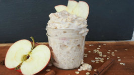 Breakfast Recipe-Apple Pie Overnight Oats