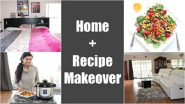 Home - Recipe Style Makeover Video - Spinach Walnut Raspberry Salad With Chickpeas