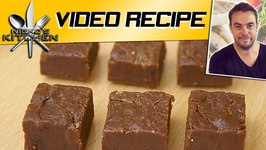 Chocolate Fudge In 90 Seconds Only 3 Ingredients