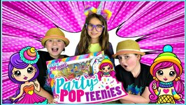 Party PopTeenies - Mega Party Surprise Set! Party PopTeenies Mega Party Doll Review