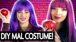 Mal Descendants 2 Diy Costume and Makeup - Halloween 2017
