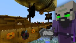 Minecraft Xbox  Survival Madness Adventures 2  Attack on The Airship 9