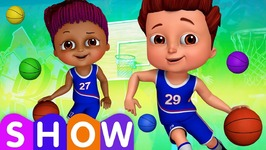 Team Spanny Vs Team FiFI in Basketball Game - SINGLE- Learn Colors for Kids - ChuChu TV Funzone