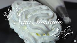 Nata Montada Vegetal Extra Firme Y Muy Consistente