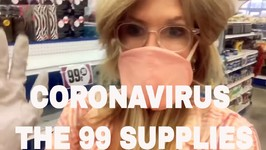 How To Prepare for the Coronavirus / 99 Cent Store Supplies / USA Grocery Haul / Self Quarantine