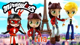 Lila - Volpina Miraculous Ladybug Villain Equestria Girls Minis Custom Doll Tutorial