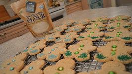 Gluten Free Holiday Tiger Nut Shortbread Cookies