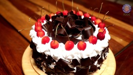 Black Forest Cake Recipe Christmas SpecialDivine Taste with Anushruti