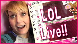 Opening LOL Surprise Glitter Series Live