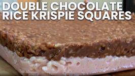 Double Chocolate Rice Krispie Squares