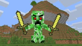 Baby Creeper Life - Minecraft Animation