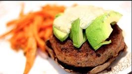 Bunless Portobello Burgers - Rule Of Yum Recipe