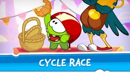 Om Nom Stores- Around the world - Cycle Race