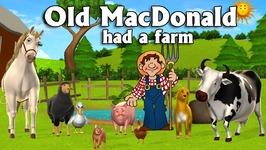 Old MacDonald Had A Farm Nursery Rhyme With Lyrics - Popular Nursery Rhymes And Songs For Children