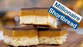 How To Make Millionaire's Shortbread - Caramel Chocolate Shortbread