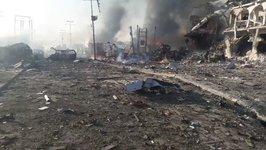 Devastation Following Deadly Attack in Mogadishu City