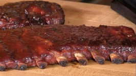 Brown Sugar Applewood BBQ Spare Ribs