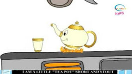 I'M A Little Teapot - Animation English Nursery Rhymes For Children With Lyrics