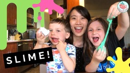Babysitting Crafts: How to Make Slime with Eden and Samson!