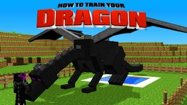 Minecraft - HOW TO TRAIN YOUR DRAGON - Let's Get an Ender Dragon! 46