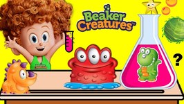 Dennis Does BEAKER CREATURES Kids Science Experiments at School - Hotel Transylvania 3
