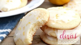 Glazed Lemon Pound Cake Cookies