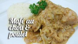 Recette Mafé (Sauce D'arachide) Au Chou Et Poulet