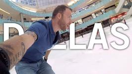 ICE SKATING at THE GALLERIA MALL - Dallas, Texas