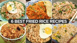 Best Fried Rice Recipes  Chicken Fried Rice  Egg Fried Rice  Prawns Fried Rice  Thai Fried Rice