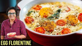 Women's Day Special - Eggs Florentine Recipe / How to make Baked Eggs in Microwave / Varun Inamdar