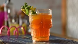 Old Monk Punch - Easy To Make Party Drink With Old Monk Rum - Mocktail And Cocktail Drinks
