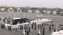 Flagler Beach Marina, Condos Swamped by Irma Floodwaters