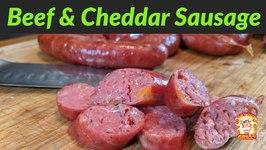Beef and Cheddar Sausage / Rec Tec 700