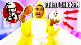 GIANT FRIED CHICKEN BATH BOMB BATH CHALLENGE